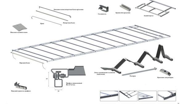 сдвижная крыша чулок